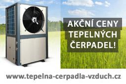 Tepelná čerpadla vzduch - energie z přírody
